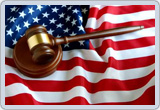 USA Flag and Gavel